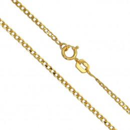 Złoty łańcuszek typu Pancerka szlifowana 1,60g złoto 585