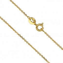 Złoty łańcuszek typu Ankier szlifowany 1,58g złoto 585