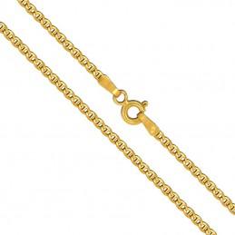 Złoty Łańcuszek Merino szlifowany pełne zloto 45/2,7 585