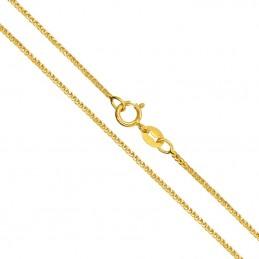 Złoty Łańcuszek splot Spiga...