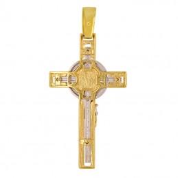Złoty Krzyżyk z Figurą  Jezusa Chrystusa złoto 585