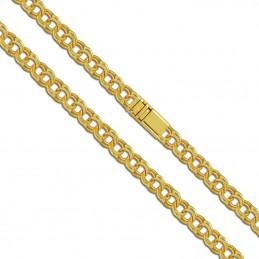 Złoty łańcuszek splot Bismark Garibaldi 60/25g pr. 585