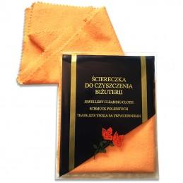 Złote Obrączki 2-kolor Soczewka Fasetowe Wcięcia 23 pr.585