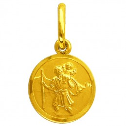 Złoty medalik  Św....