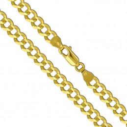 Złoty Łańcuszek splot pancerka szlifowana 60/34,2g 585