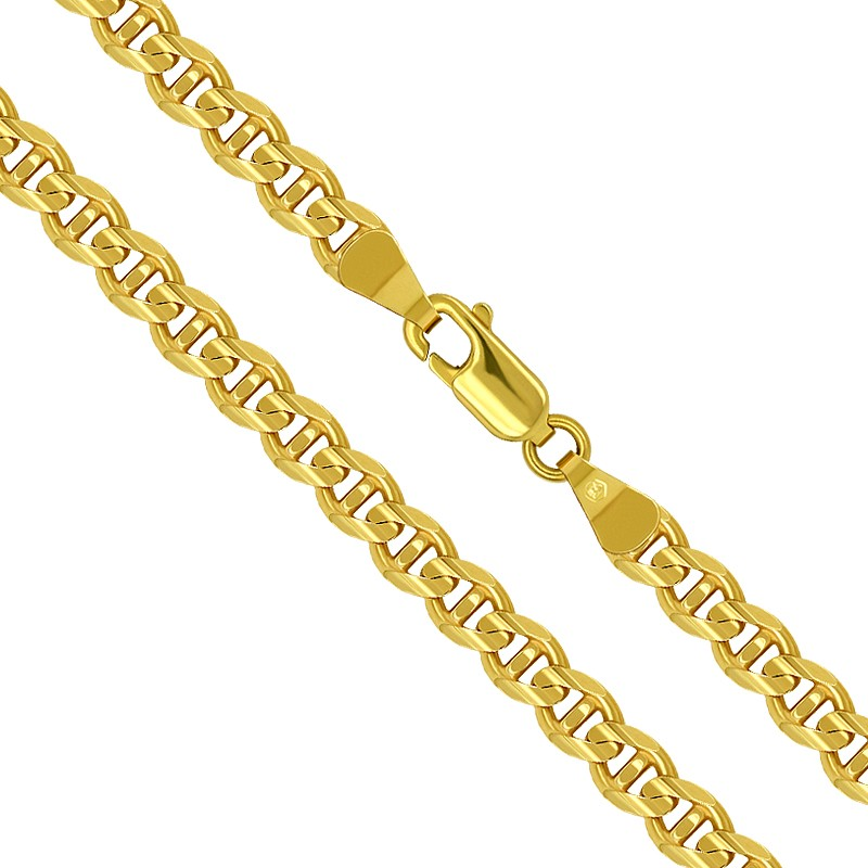 Złoty Łańcuszek Merino szlifowany pełne zloto 55/21,8 585