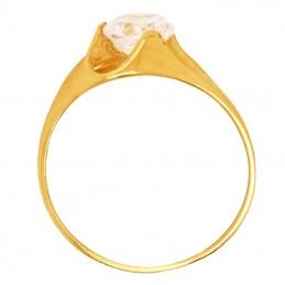 Złoty Pierścionek Zaręczynowy Elegant złoto 585