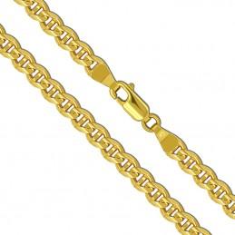 Złoty Łańcuszek Merino szlifowany pełne zloto 55/25,0 585