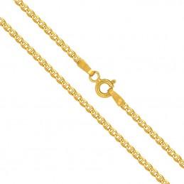 Złoty Łańcuszek splot Merino szlifowany 50/3,2 pr 585