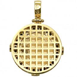 Złoty medalik pasja Jezusa Chrystusa Pamiątka 6,3g złoto 585
