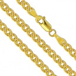 Złoty Łańcuszek Mona Lisa 45/4,6 Dmuchany złoto 585
