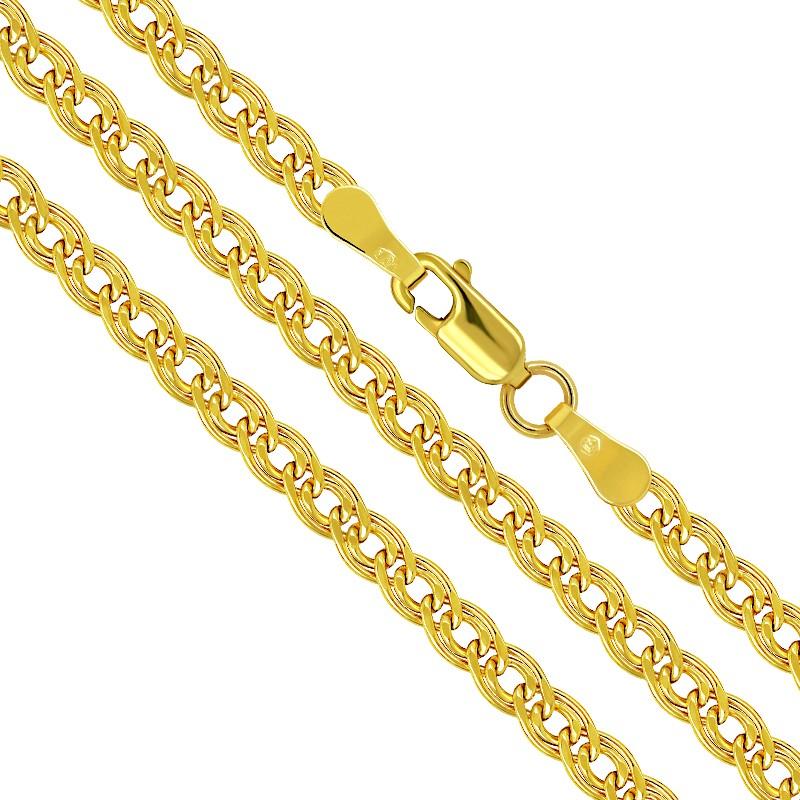 Złoty Łańcuszek Mona Lisa 50/3,8 Dmuchany złoto 585