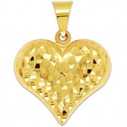 Złote Serce grawerowane pr....