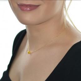 Złoty łańcuszek Celebrytka kuleczka pr.585