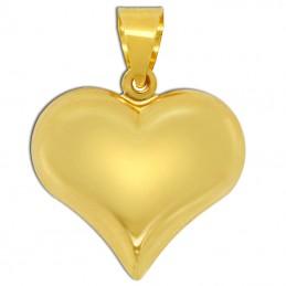 Złote Serce grawerowane pr. 585