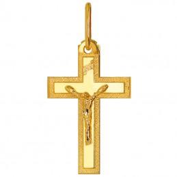Złoty Krzyżyk z figurką...