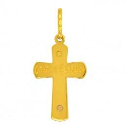 Złoty Krzyżyk prawosławny złoto 585