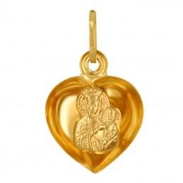 Serce z Matką Bożą 3D L