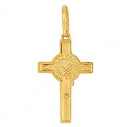 Krzyżyk Św. Benedykta z cyrkoniami