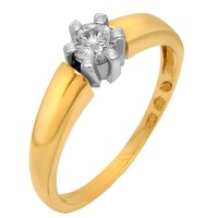 Pierścionki zaręczynowe złote